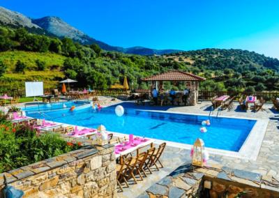 zwembad hotel Rhodos